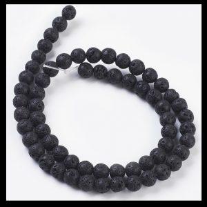 Lava Beads 4mm