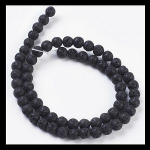 Lava Beads 6mm