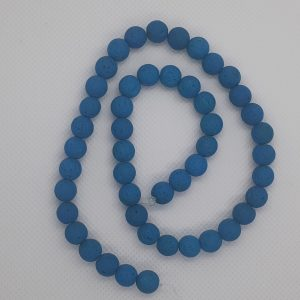 Blue Lava Beads 8mm