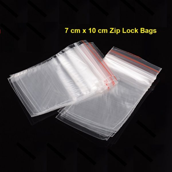 Zip Bags 7x10 small bags