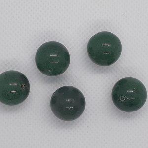 14mm Green Jade Round