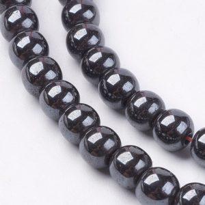 6MM Hematite Beads